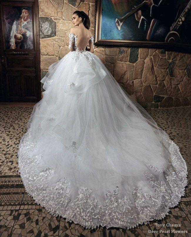 Wedding - Tony Chaaya Wedding Dresses 2017