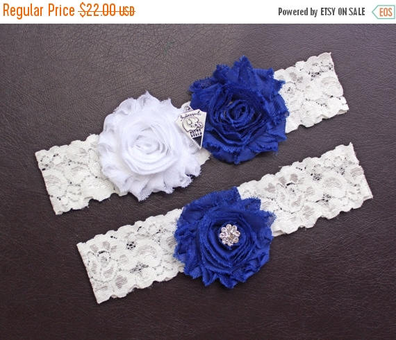 زفاف - ON SALE Indianapolis Colts Wedding Garter Set, Indianapolis Colts Bridal Garter Set, Colts Garter, White Lace Wedding Garter, Football Garte