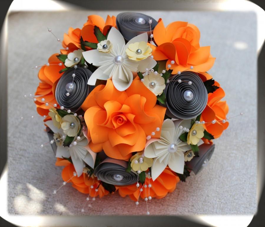 Свадьба - Paper Flower Bouquet