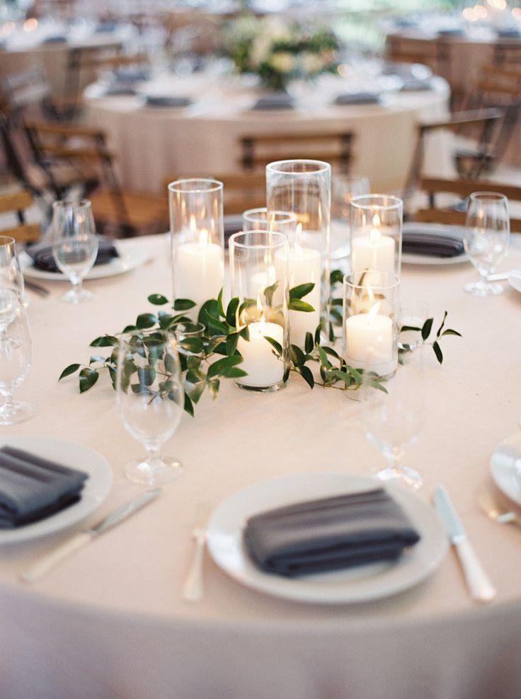 Свадьба - Lush Garden Wedding With Greens Galore!
