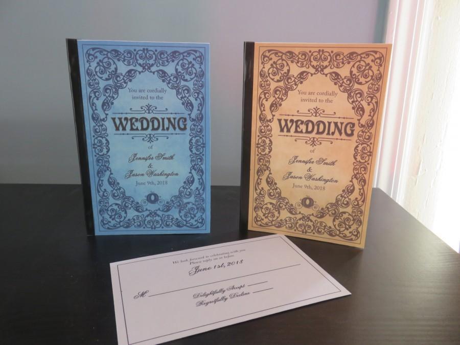 زفاف - Fairytale Storybook Wedding Invitations
