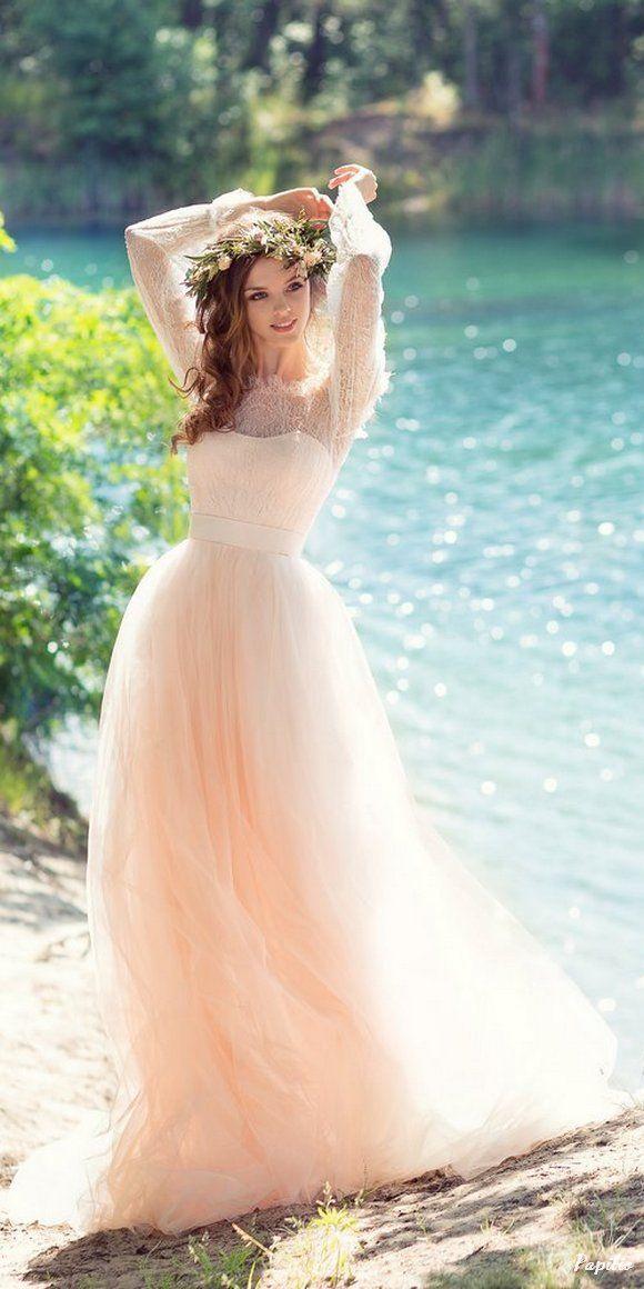 """زفاف - """"Wings Of Love"""" 2017 Wedding Dresses From Papilio"""