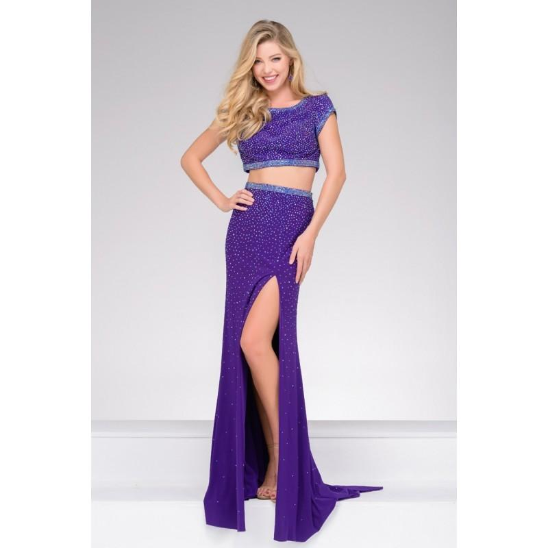 Свадьба - Jovani JVN36743 Prom Dress - Jewel Prom JVN by Jovani Long 2 PC, Crop Top, Fitted Dress - 2017 New Wedding Dresses