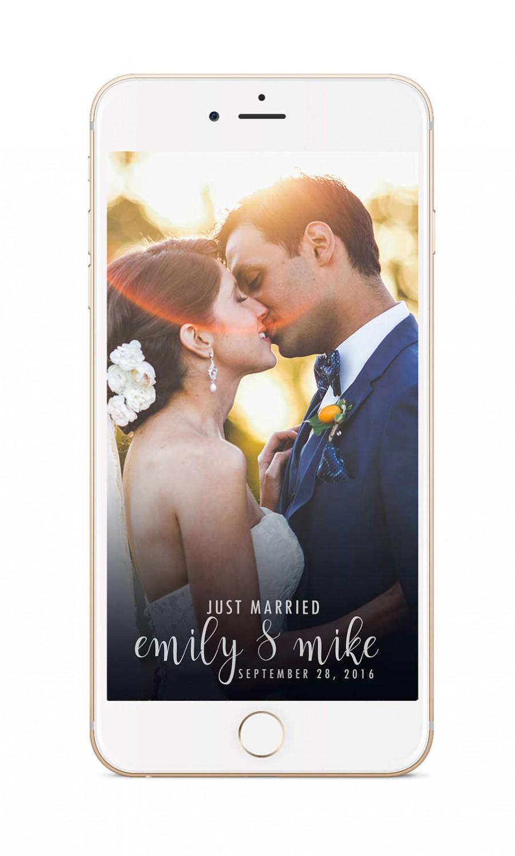 Mariage - Snapchat Geofilter Wedding: Custom Geofilter, Snapchat Geofilter, Personalized Geofilter, Wedding Snapchat Filter, Custom Wedding, gift 010