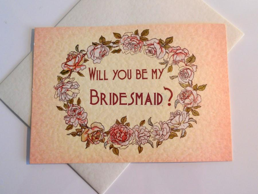 زفاف - WILL YOU BE Wedding  A6 postcard or folded to A6 cards and matching envelope, can be personalised, free uk p&p