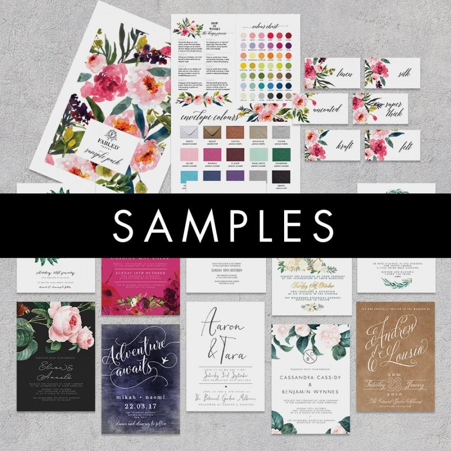Mariage - Fabled Papery Sample Pack