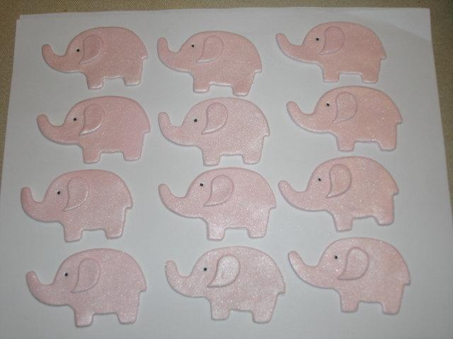زفاف - Gumpaste Elephant Jungle Safari Animals Cupcake Toppers -  Baby Showers, Birthday Parties