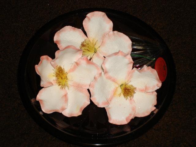 Свадьба - Gum Paste Briar Roses (Wild Roses)