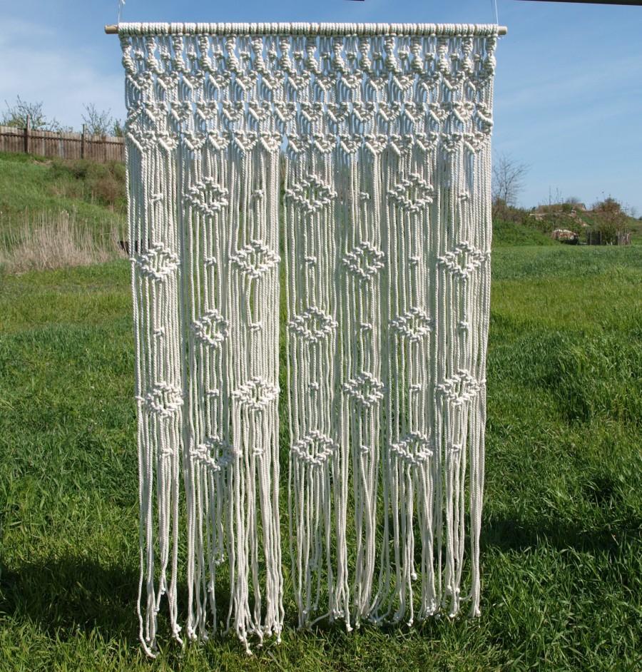 Macramae Ideas Wedding Arch: Macrame Wedding Backdrop Wedding Arch Boho Wedding
