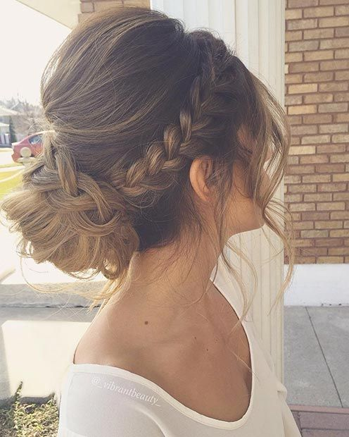 زفاف - 27 Gorgeous Prom Hairstyles For Long Hair