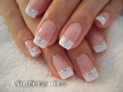 زفاف - 22 Awesome French Manicure Designs