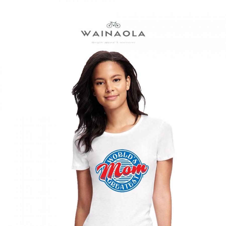 زفاف - WORLD'S GREATEST MOM Mother's Day T-shirt, World's Greatest Mom Tee, World's Best Mom Mother's Day Gift