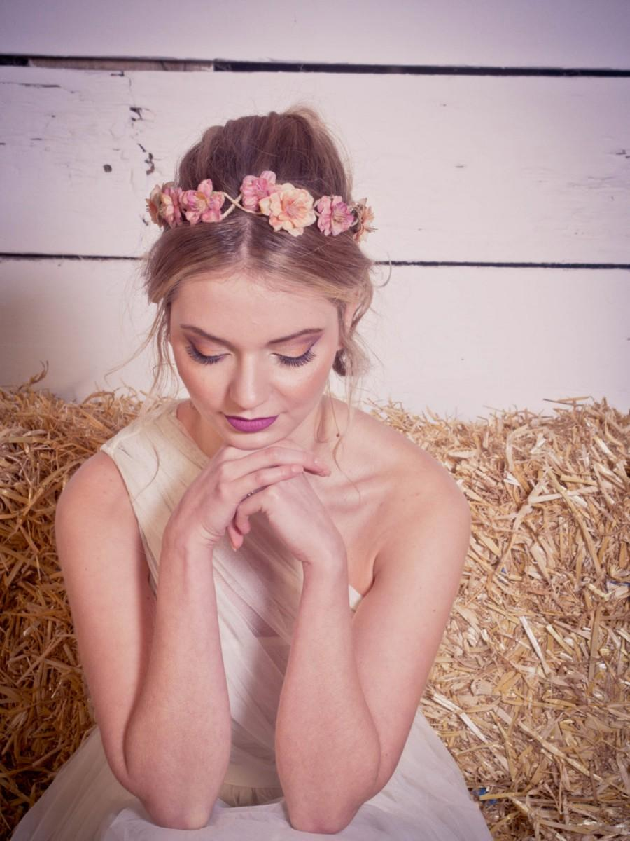 Orange blossom floral crown fall flower crown woodland wedding orange blossom floral crown fall flower crown woodland wedding festival floral crown autumn floral crown izmirmasajfo