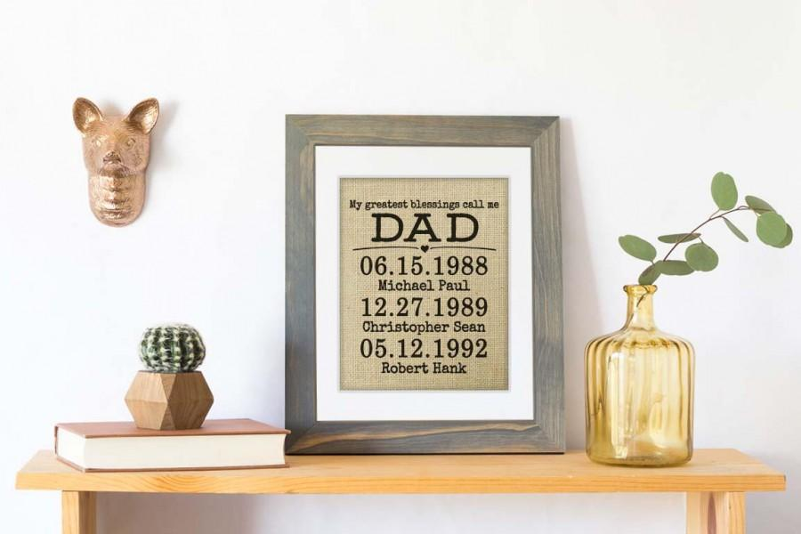 Fathers Day Gift, Father's Day Gift Dad, Fathers Day From Daughter ...