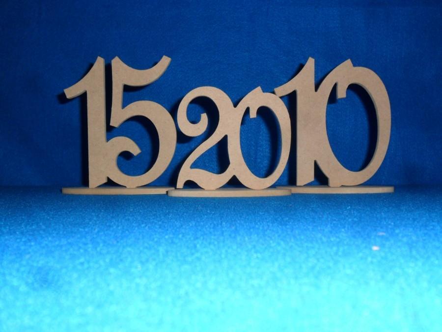 زفاف - wedding table numbers wood - Wooden Table Numbers - 1-15 - Wedding table number - wooden number - event number - DIY Table Number