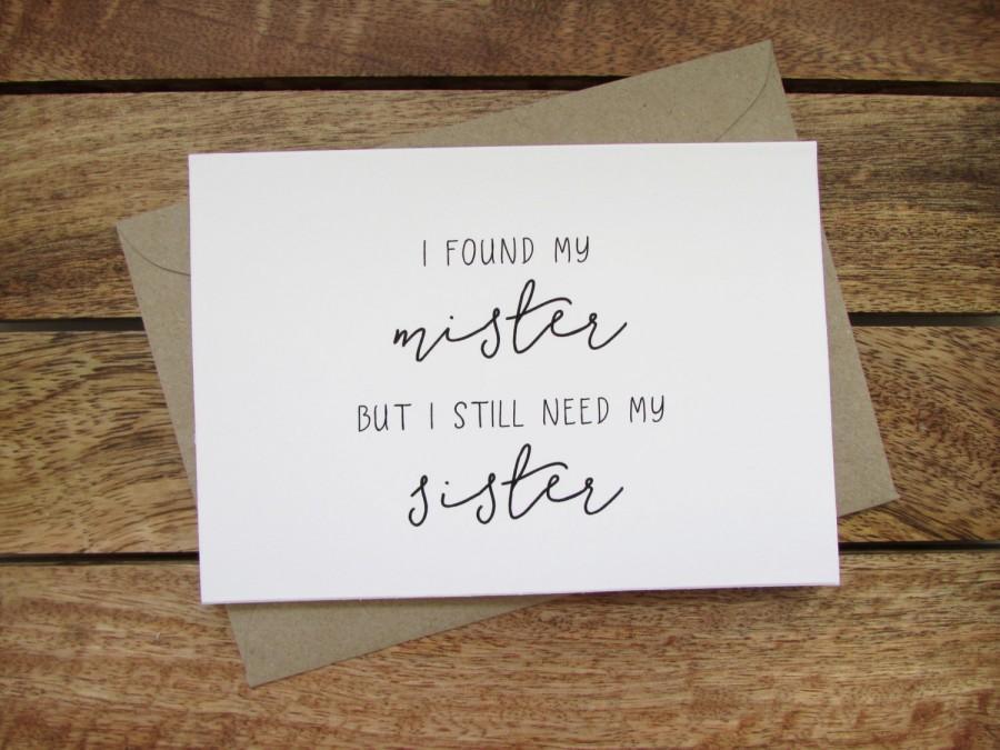 Mariage - Be My Bridesmaid Card