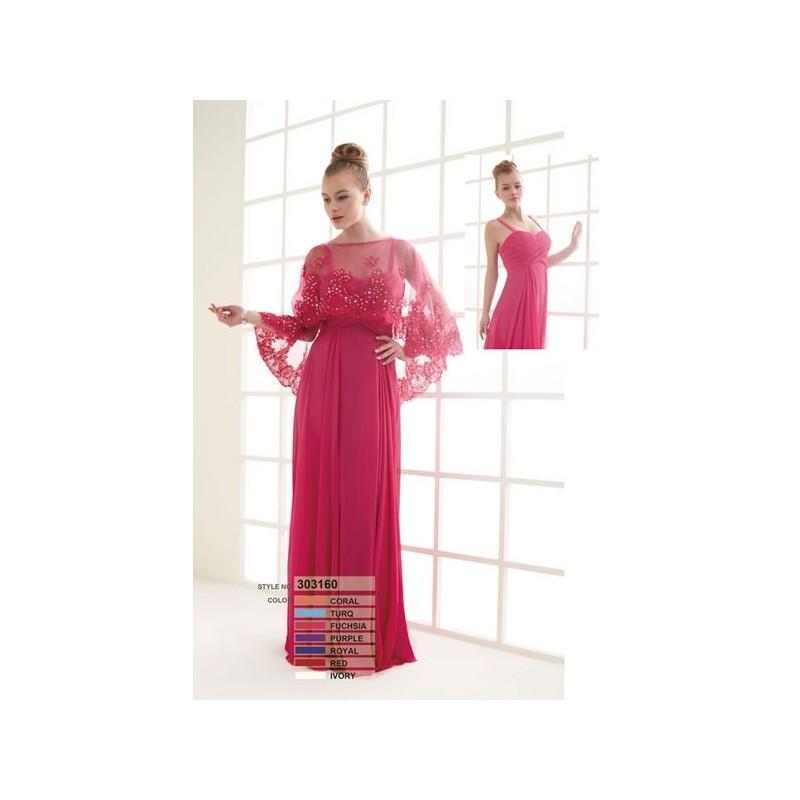 Wedding - Vestido de fiesta de Susanna Rivieri Modelo 303160 - 2014 Vestido - Tienda nupcial con estilo del cordón
