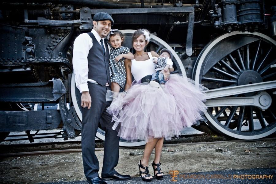 Свадьба - Wedding Skirt Wedding Tutu Tulle Skirt Bridal Skirt Shabby Chic Pink Tutu Cocktail Mid Length Perfect for Weddings and Portraits All Sizes