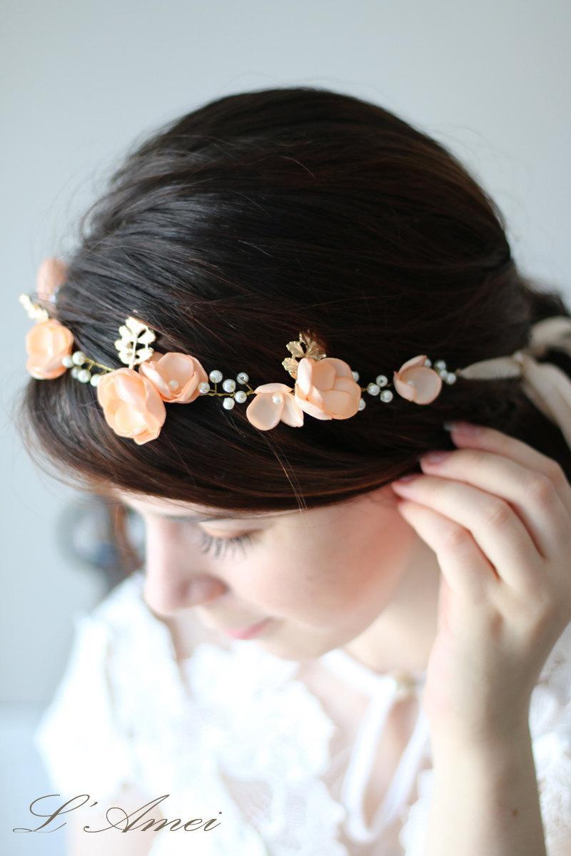 Sale Boho Bridal Forehead Hair Vine Wedding Headpiece Wedding Hair
