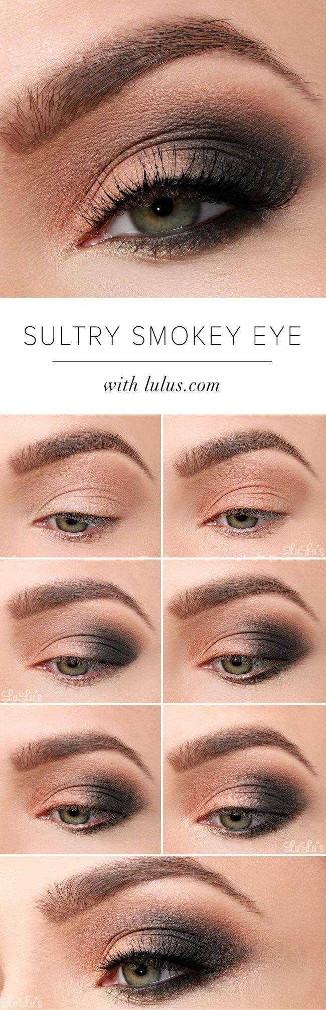 Свадьба - Lulus How-To: Sultry Smokey Eye Makeup Tutorial