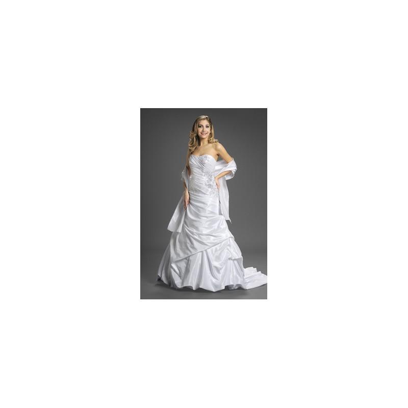 Свадьба - Romantic Bridals Wedding Dresses Style 7206 - Compelling Wedding Dresses