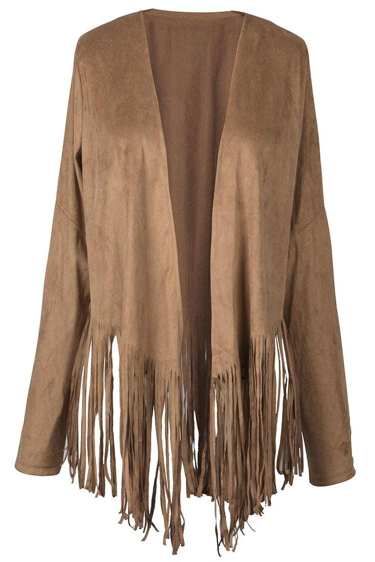 Mariage - Keep Your Fringe Tassel Hem Cardigan