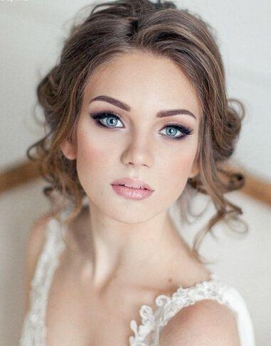 Свадьба - 20 Gorgeous Bridal Hairstyle And Makeup Ideas For 2017