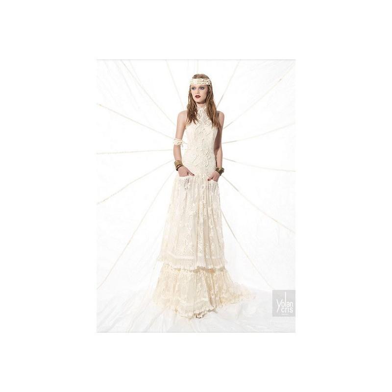 Wedding - Vestido de novia de YolanCris Modelo Airina - 2015 Imperio Otros Vestido - Tienda nupcial con estilo del cordón