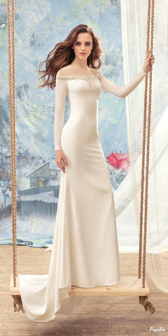 """Mariage - """"Wings Of Love"""" 2017 Wedding Dresses From Papilio"""