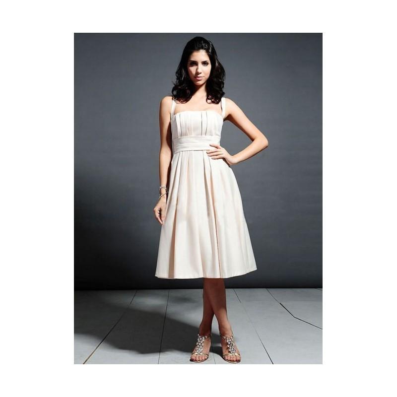 Свадьба - Stylish A-line Halter Knee-length Satin Bridesmaid Dress In Canada Bridesmaid Dress Prices - dressosity.com