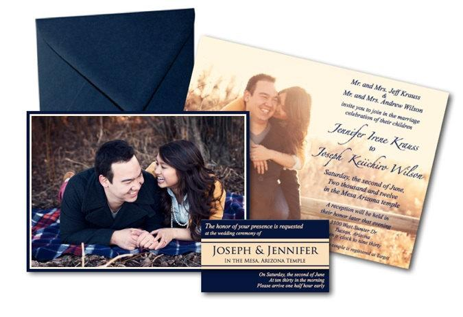 Wedding - Classic Wedding Invite with Photos