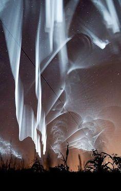 Wedding - White Northern Lights In Finland