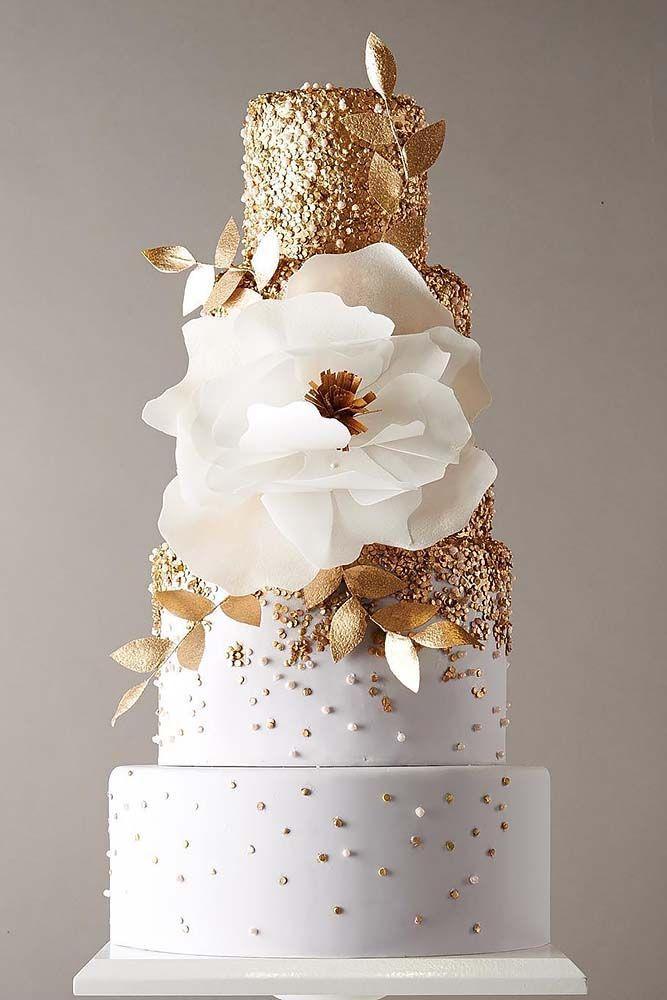 Gateau 30 Simple Elegant Chic Wedding Cakes 2710524 Weddbook