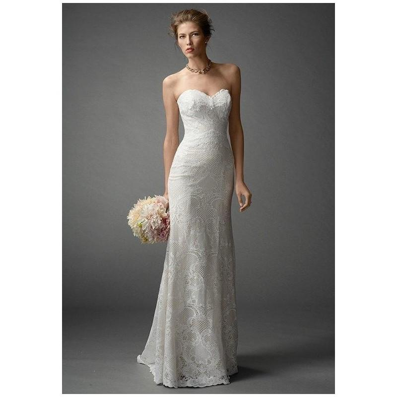 Watters brides mandalyn 7040b wedding dress the knot for Wedding dresses the knot