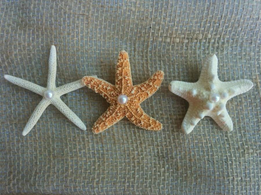Hochzeit - Beach Wedding Boutonniere, Starfish Boutonniere, Groom Starfish Pin, Starfish Clip, Starfish Brooch