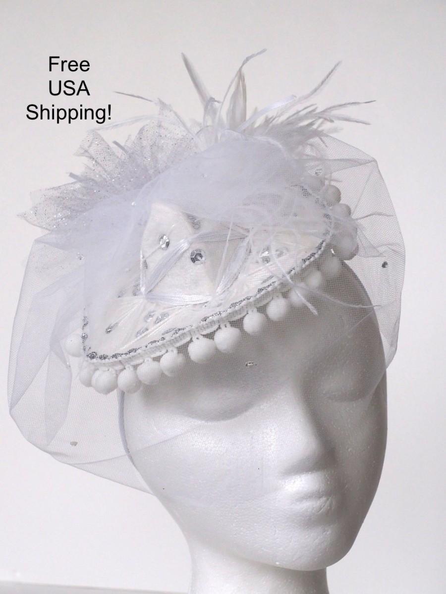 Wedding - Bachelorette Bridal White Mini Sombrero White Mexican Hat White Mariachi Charro White Cinco De Mayo Hat Fiesta Wedding Hat FREE USA SHIPPING