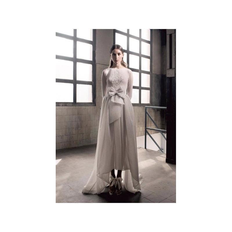 Wedding - Vestido de novia de Inmaculada Garcia Modelo Mia - 2016 Otras Con mangas Vestido - Tienda nupcial con estilo del cordón