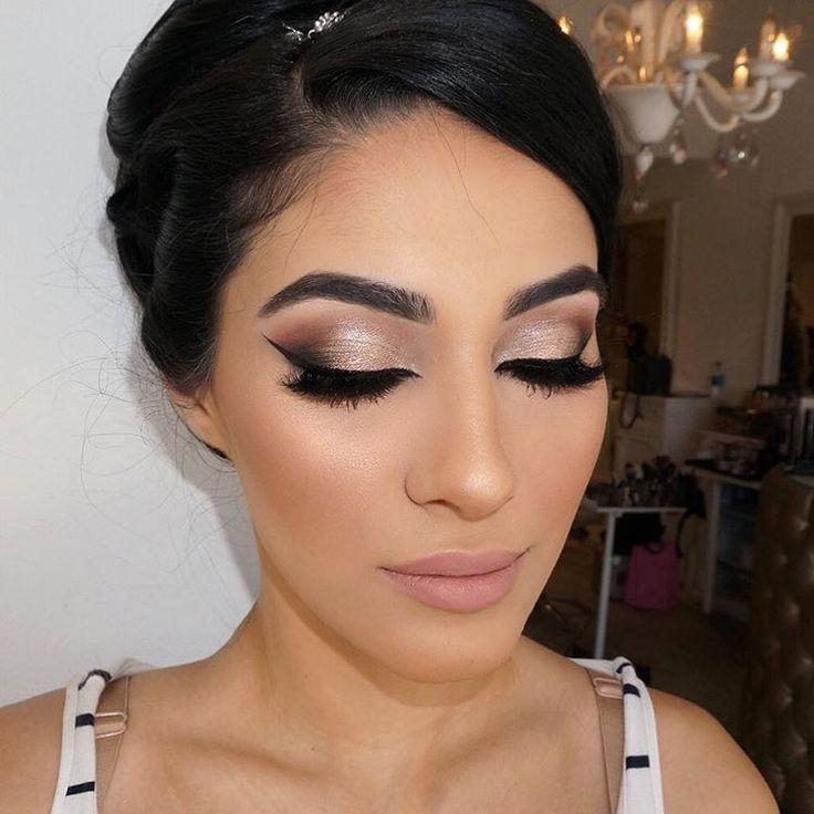 "Свадьба - Vanity Makeup On Instagram: ""Beautiful Bride From Yesterday ❤️ Double Tap And Comment For Details On This Look ❤️"""