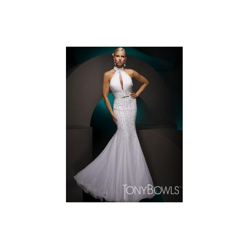 Wedding - Tony Bowls Collection Mermaid Pageant Dress 110C07 - Brand Prom Dresses