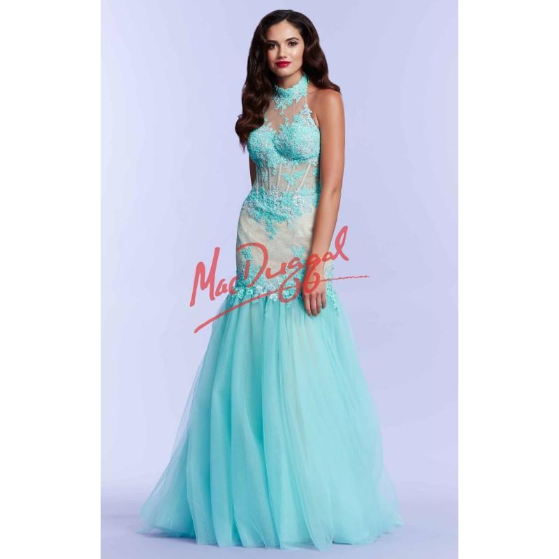Mariage - Mac Duggal - 10057M - Elegant Evening Dresses
