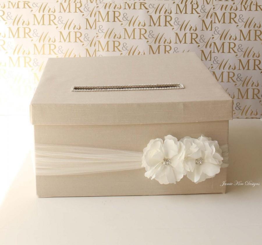 Mariage - Wedding Card Money Box Money holder - Custom Card Box
