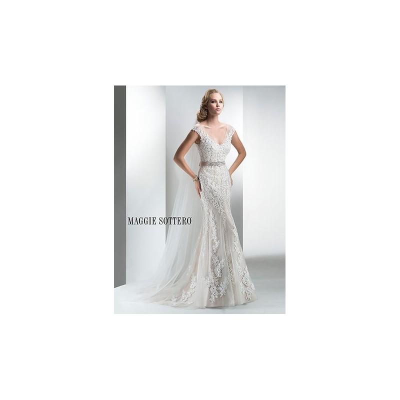 Свадьба - Maggie Bridal by Maggie Sottero Lucinda-4MT036 - Branded Bridal Gowns