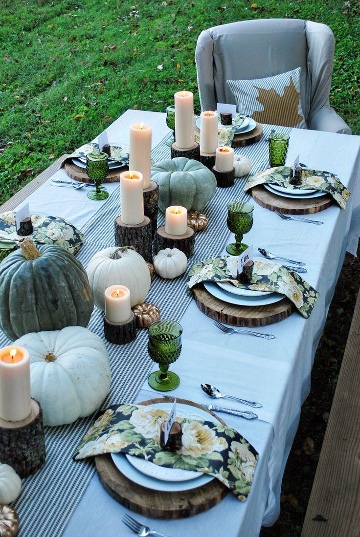Wedding - Introducing Tuesday's Tablescape: Fresh Fall