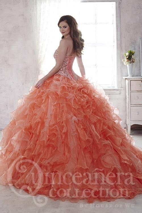 Wedding - Quinceanera Collection 26805 Ballgown Formal