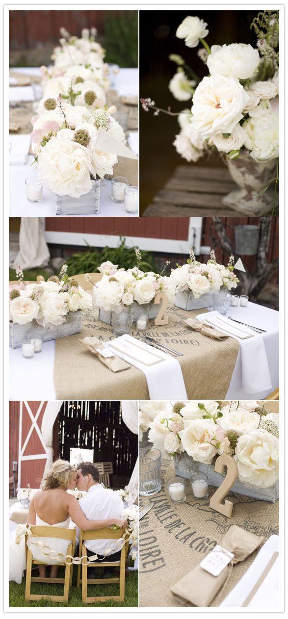 Mariage - Wedding Centrepiece Ideas