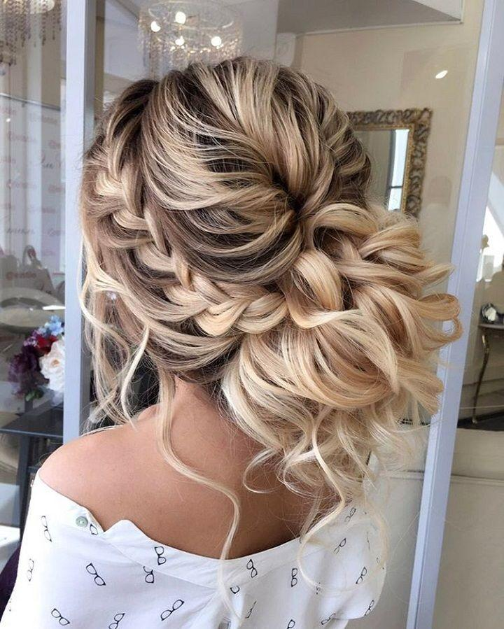 Beautiful Braided Updos Wedding Hairstyle 2712990 Weddbook