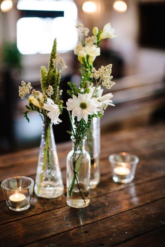 Hochzeit - Sara & Alex's Industrial Chic Wedding