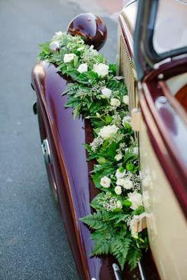 Hochzeit - Link Camp: Wedding Car Flower Decoration Collections 2013 (6)