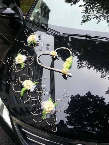 Hochzeit - Decoracion Para Carro