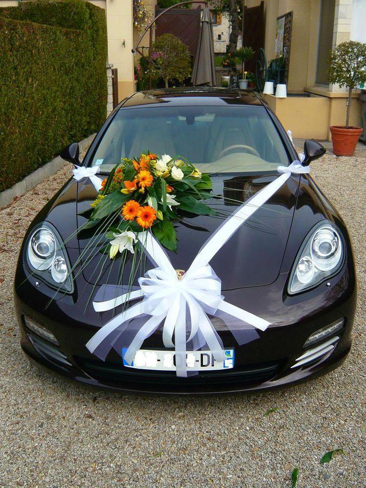Hochzeit - Fleuriste Mariage Etrechy Pour Décorer Votre Voiture  Mariée